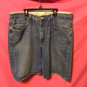 Levi's Loose Straight Fit Jean Shorts